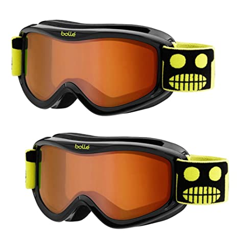 bd1aaa4b96a Amazon.com   Bolle AMP Kids Youth Junior Snow Goggles