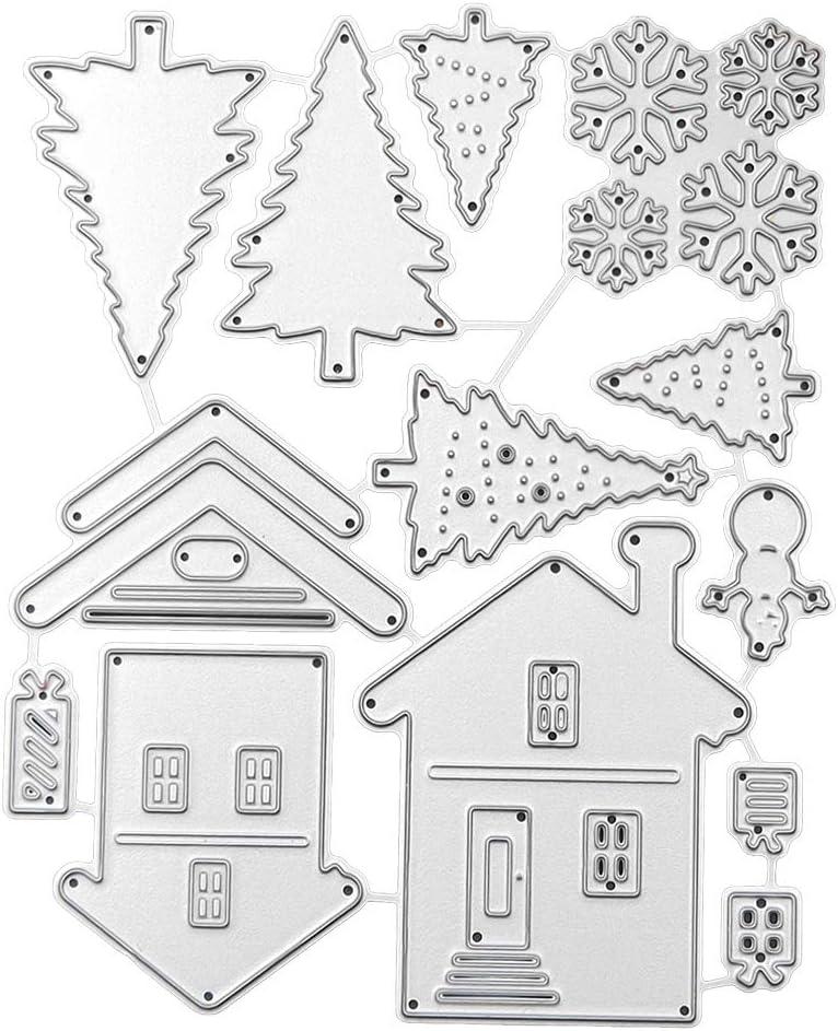 House Design Metal Cutting Dies Stencils For Scrapbooking DIY Album Cards Decor/'