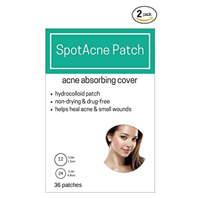 2 BOXES (72 total patches) - SpotAcne Pimple Patch - Acne Cover