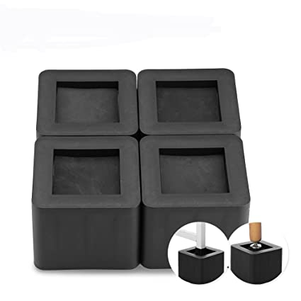 Etonnant Amazon.com: Furniture Riser, 4Pcs/Set Bed Risers Bedding Lifts Furniture  Square Leg Risers PP Plastic Non Slip Risers For Table Desk Chair Bed Sofa  ...