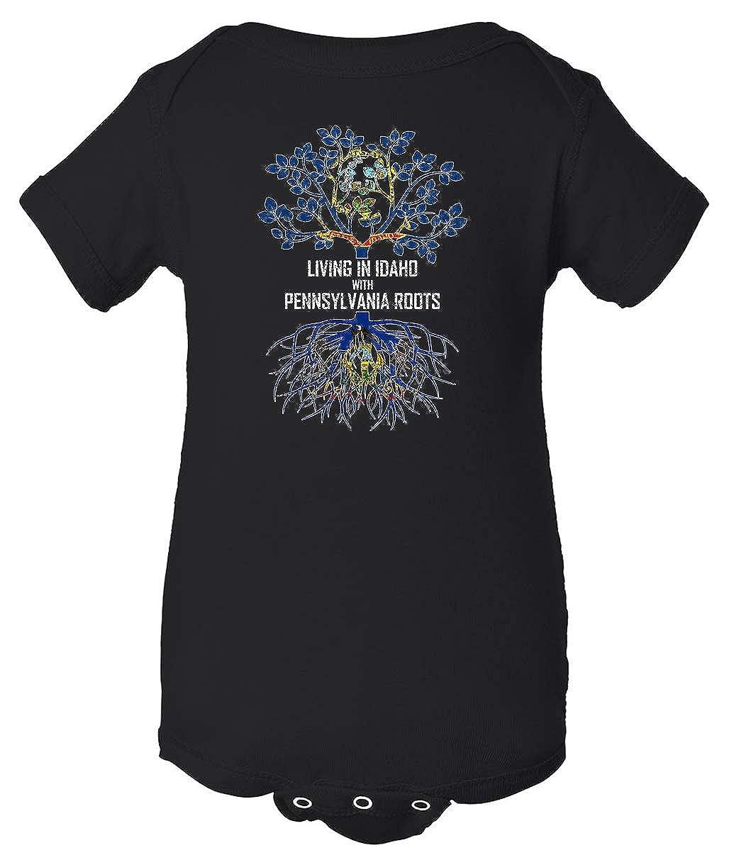 Tenacitee Babys Living in Idaho Pennsylvania Roots Shirt