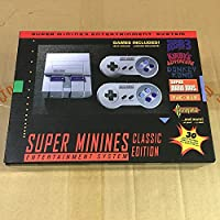 Super NES Mini Retro Video Game Console Entertainment System Built-in 30 Classic NES Games Support Download Games