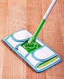 Set of 2 Resusable Microfiber Mop Pads
