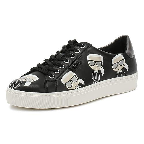 Karl Lagerfeld Kupsole Multikonic Karl Lo Lace Nero Donna Sneaker   Amazon.it  Scarpe e borse 83b3ff4c077