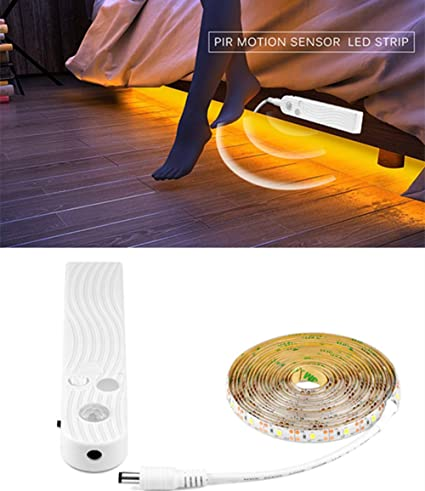 LED Strip Lights Battery Powered Stairs, Kids LED Bed Light