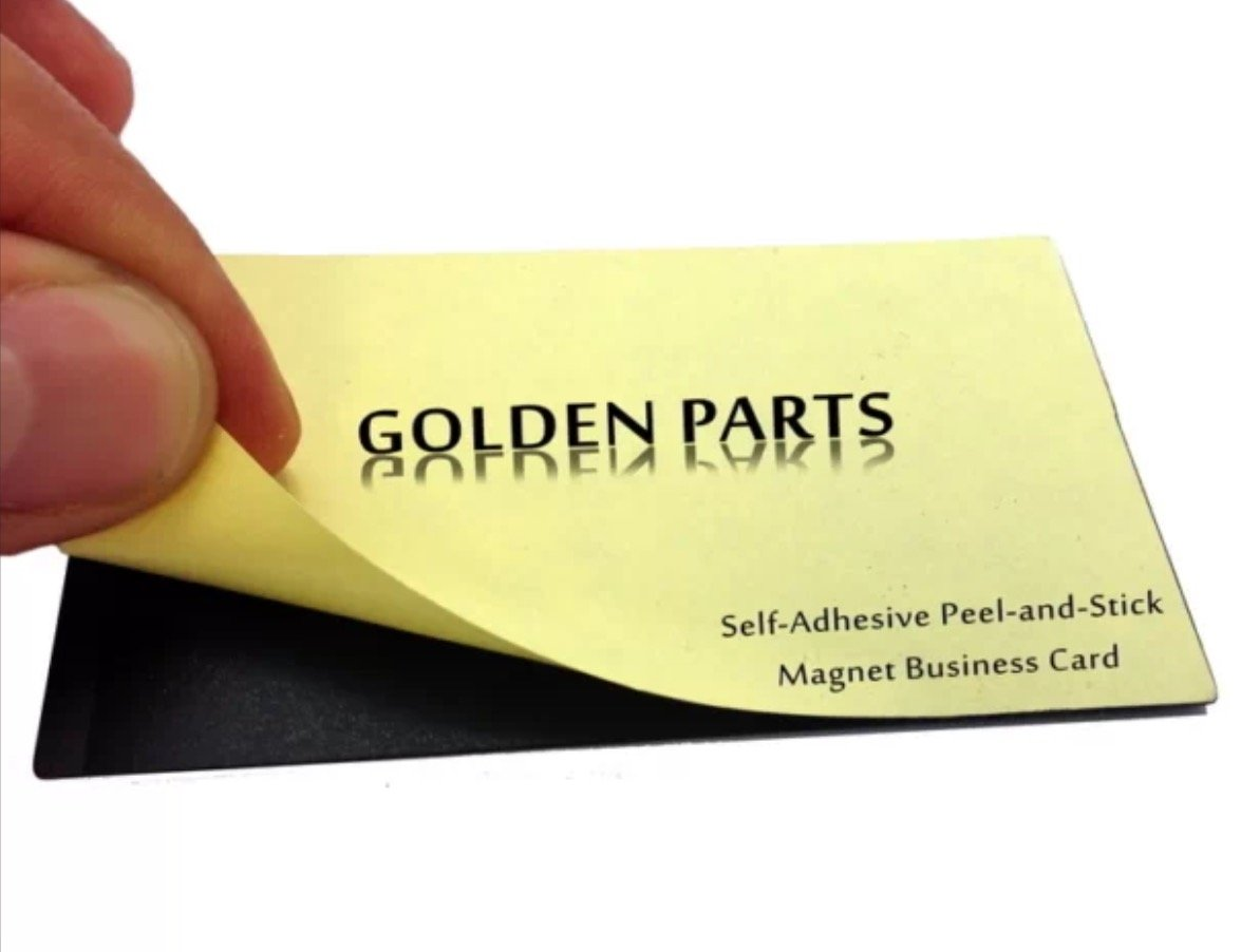 Amazon.com : 1000 Self-adhesive Peel-and-stick Business Card Size ...