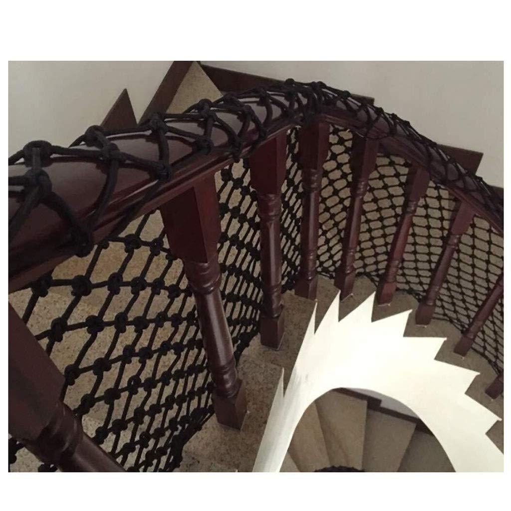 CANQUANWANG Filet de s/écurit/é incassable pour d/écoration descalier d/écoration de Plafond Balcon Protection des Enfants sur Les escaliers d/écoration int/érieure et ext/érieure