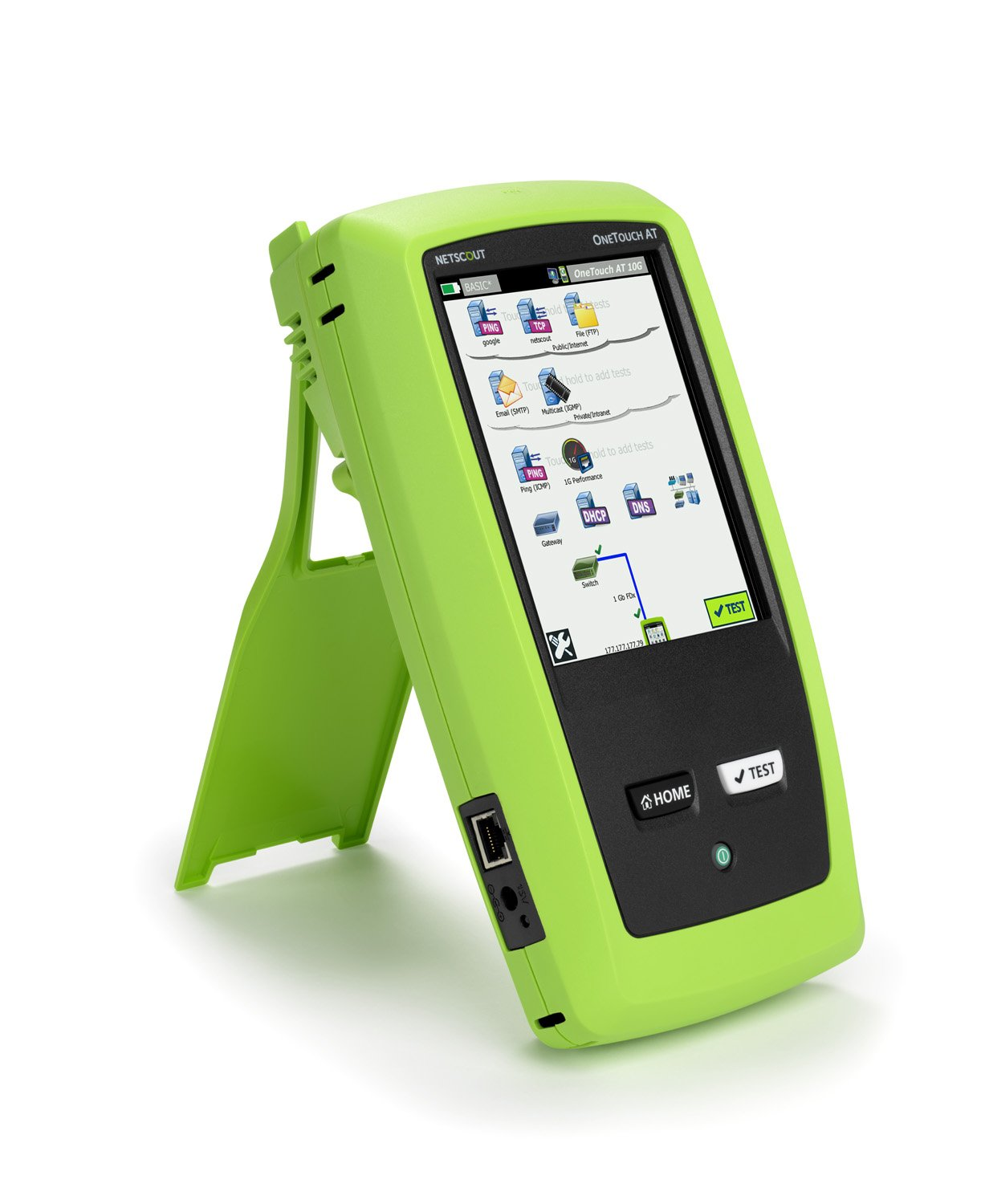 NetAlly 1T10G-1000 OneTouch AT 10G Network Assistant Industrial ...