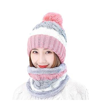 Strickmütze Damen Herbst Und Winter Wolle Ball Wollmütze