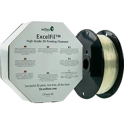 Voltivo ExcelFil ABS Transparente 1 kg - Materiales de impresión ...