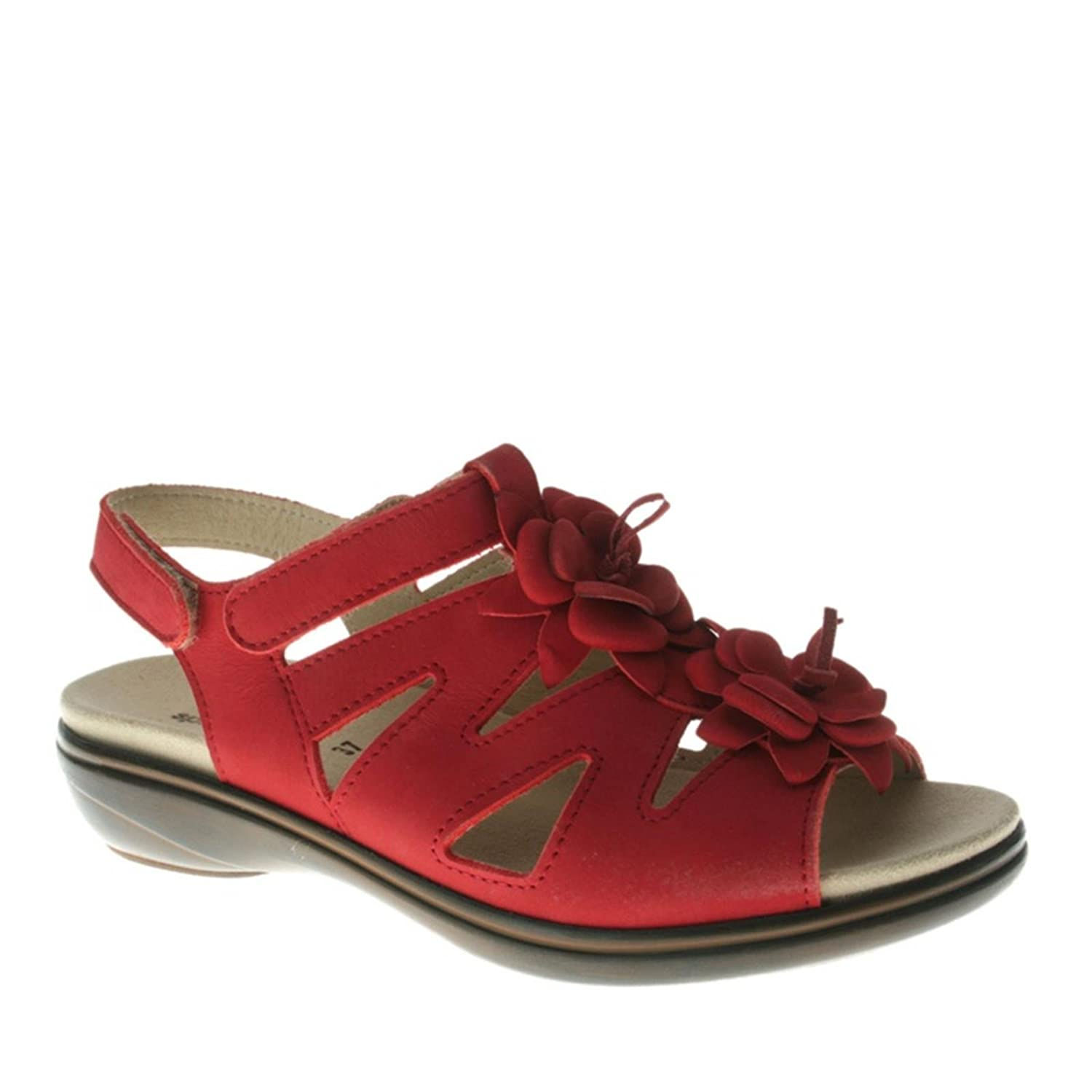 Spring Step Women's Tressie Strappy Sandals B00B5H8AZY 39 M EU|Red