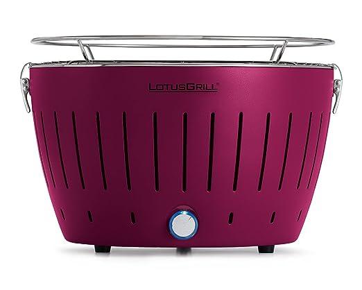 106 opinioni per LotusGrill G-LI-34- Barbecue a carbone senza fumo, colore viola
