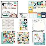 Scrapbook Customs Themed Paper and Stickers