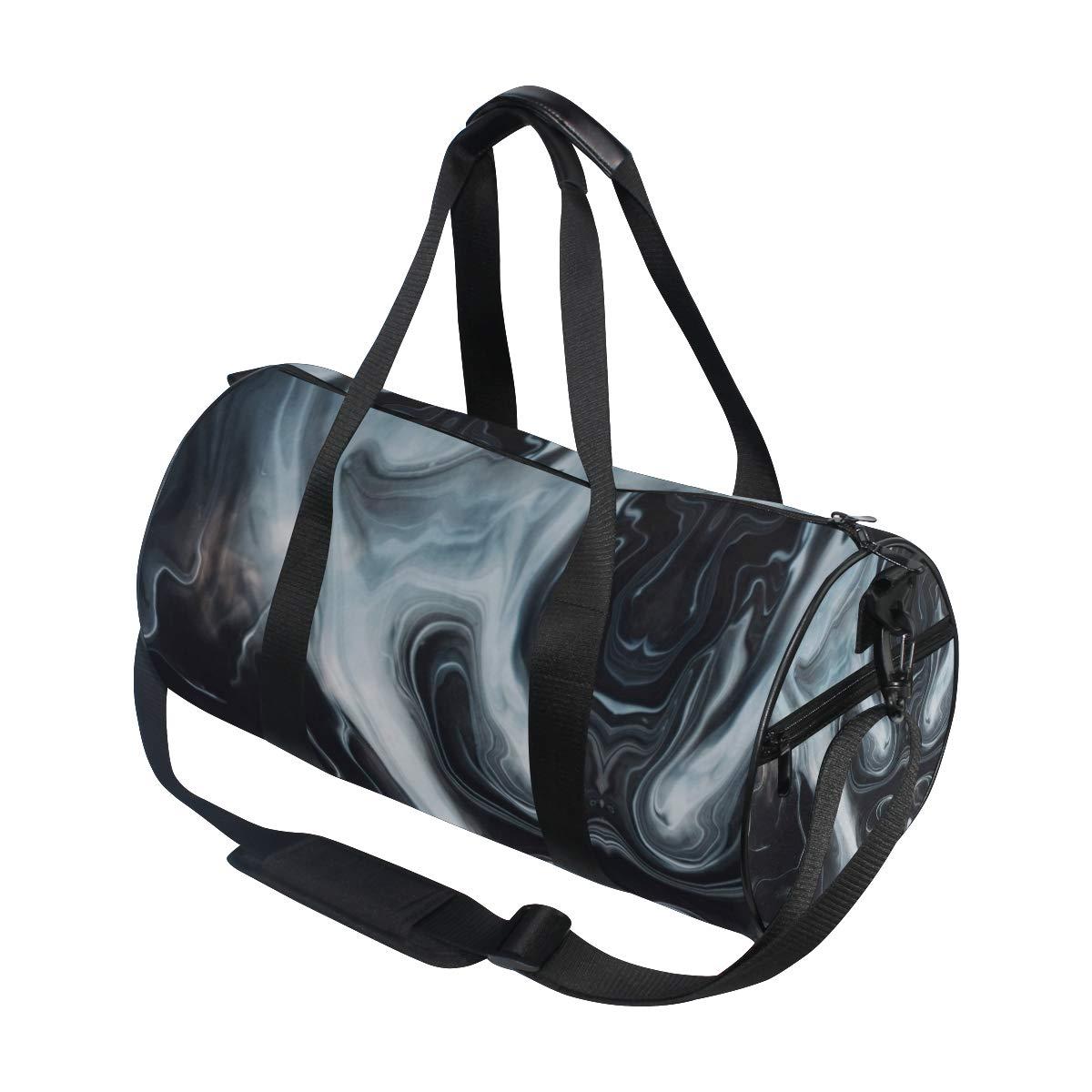 non-slip wearable handbag crossbody bag Smoking MarblePopular casual fitness bag sports bag suitable for men and women.