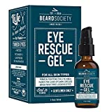Beard Society Eye Rescue Gel for Men to Firm Tighten Tired Eyes