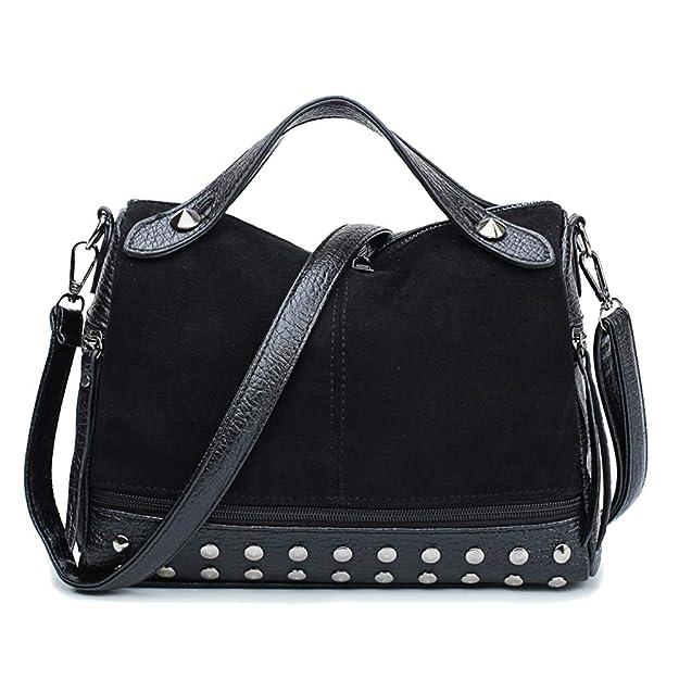 Amazon.com: TianSe - Bolsas de hombro para mujer con diseño ...