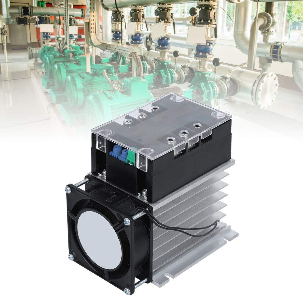 partes el/éctricas Accesorio para motor monof/ásico//bif/ásico con fondo de aluminio Controlador de arranque suave para bomba de agua ventilador Module + radiator placa de arranque del motor
