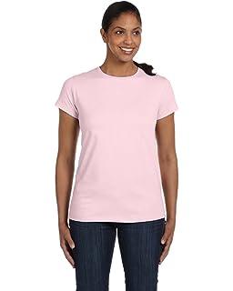 961edf83 Amazon.com: Hanes Women's Relaxed Fit Jersey ComfortSof Crewneck T ...