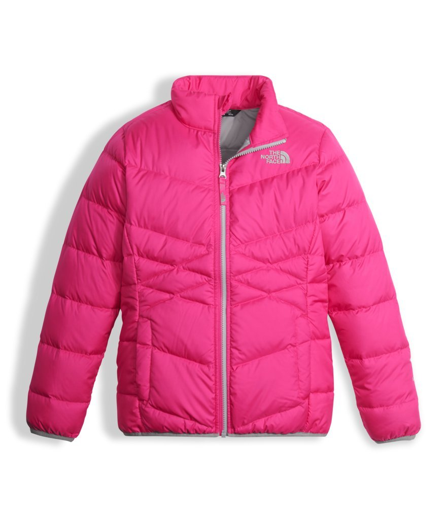 The North Face Girl's Andes Down Jacket - Petticoat Pink - XL (Past Season)