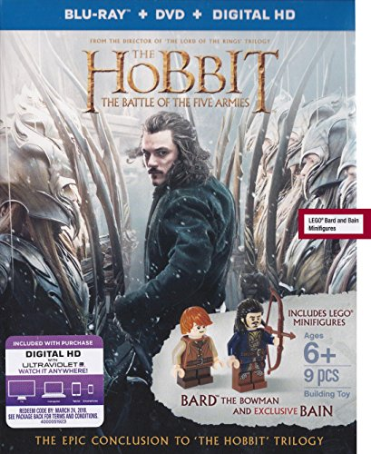 Hobbit, The: The Battle of Five Armies (Blu-ray)