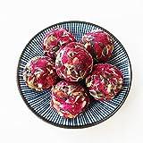 Aseus Yunnan Natural Rose Crown tea, handmade rose tea, dragon ball special big sulfur free dry rose 500g