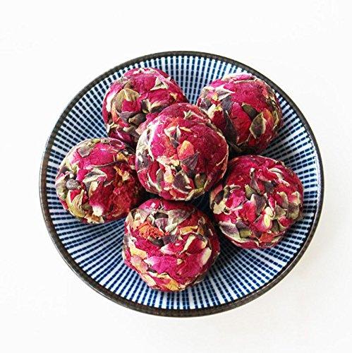 Aseus Yunnan Natural Rose Crown tea, handmade rose tea, dragon ball special big sulfur free dry rose 500g by Aseus-Ltd (Image #4)