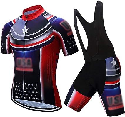 New fashion men/'s cycling jersey bib shorts set long sleeve bike cycling clothes