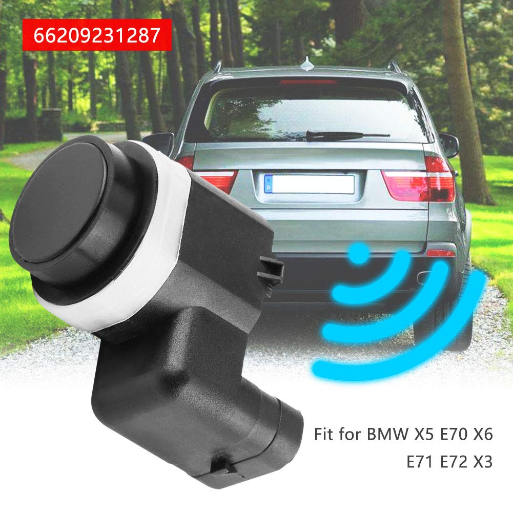 Keenso Garage Parking Assist Reverse Sensor Backup Sensor For BMW X5 E70 X6 E71 E72 X3 66209231287 Car PDC Parking Sensor