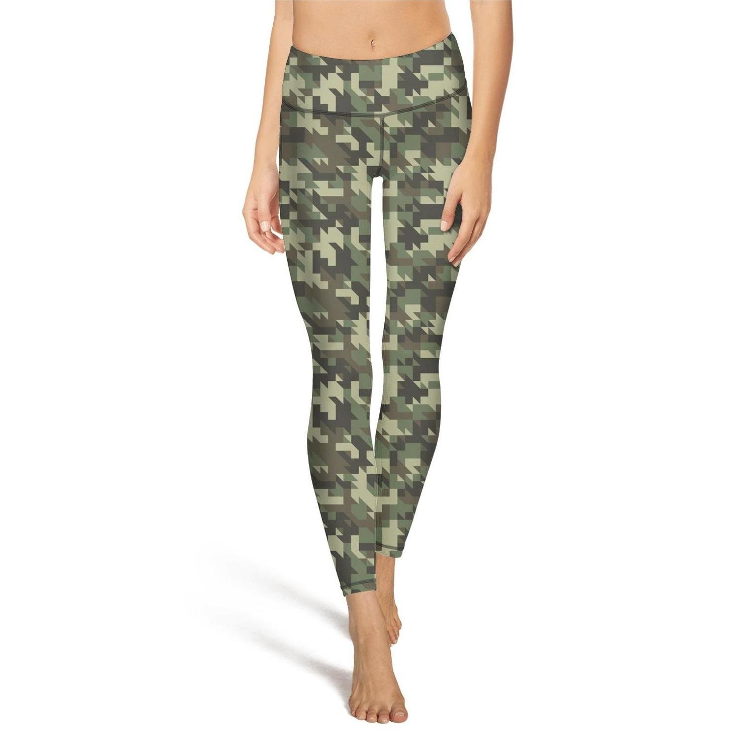 b923067b94e9d Military Digital Camouflage Green Leggings Outfit Women's Activewear Sets  at Amazon Women's Clothing store:
