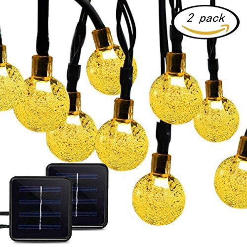 Solar Powered Led String Path Lights - 6