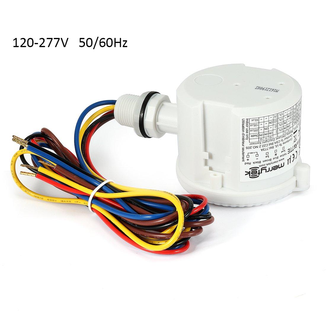 sourcingmap® Merrytek autorisierten MC 031 V/d IP65 Mikrowelle Licht ...