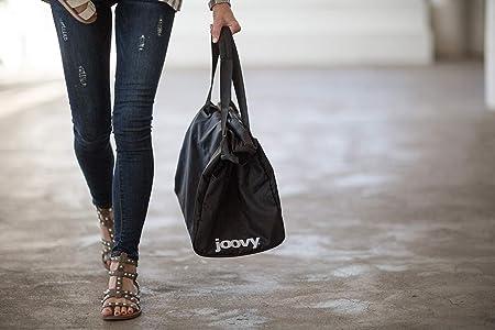 Black Joovy Qool Tote shopping bag