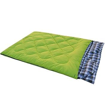RFVBNM Modelos de otoño e invierno saco de dormir doble pareja al aire libre Estilo de