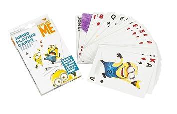 Juego de 52 cartas gigantes, los Minions - Minion tarjeta ...