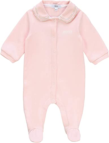 BOSS Mono de Pijama Bebe Rosa Pastel 9MESES: Amazon.es: Ropa