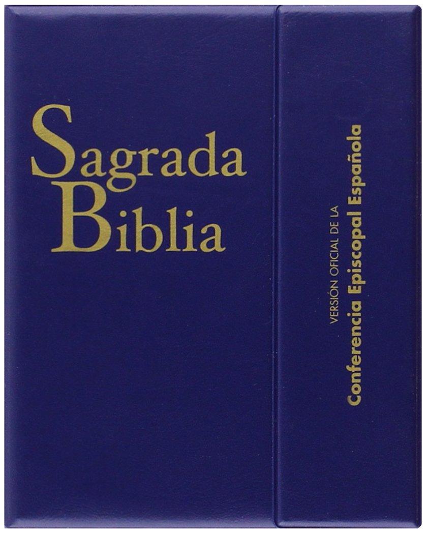 Sagrada Biblia ed. bolsillo - con estuche : Versión oficial de la ...