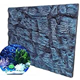 Bureze Aquatic Creations - Fondo para Acuario, diseño de Calcetines universales, Espuma 3D,