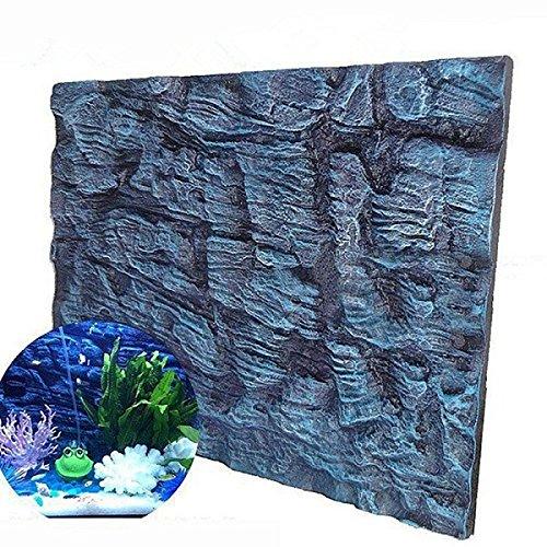 Aquatic Creations Universal Rocks Aquarium Background 3D Foam Fish Tank Background by NBANNB
