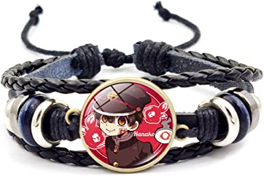 Style 01 Chutoral Toilet-Bound Hanako-Kun Bracelet Nene Yashiro Nanamine Sakura Cosplay Braided Wristbands Wristlet Bangle Jewelry