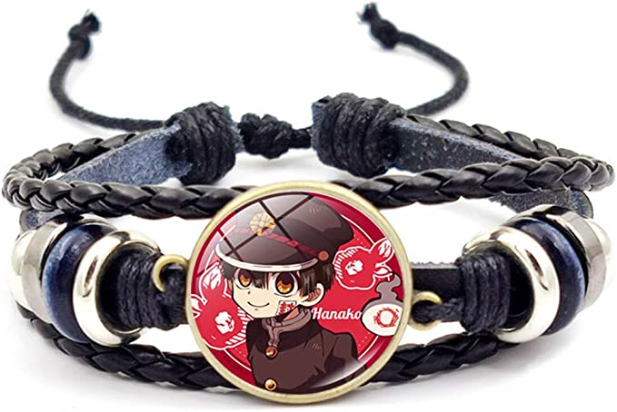 Style 05 Chutoral Toilet-Bound Hanako-Kun Bracelet Nene Yashiro Nanamine Sakura Cosplay Braided Wristbands Wristlet Bangle Jewelry H20