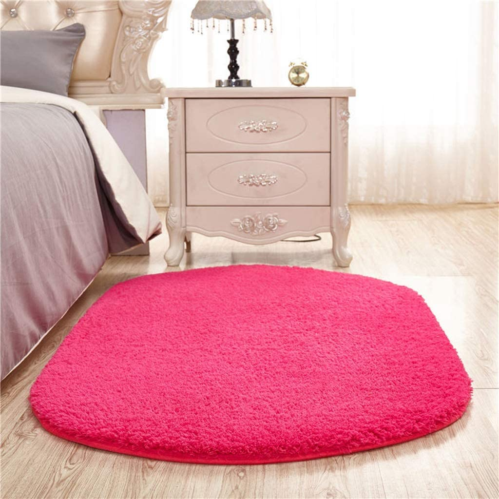 CarPet Household Living Room Rectangular Coffee Table Sofa Bedside Bedroom Mat Color : Brown, Size : 50160cm