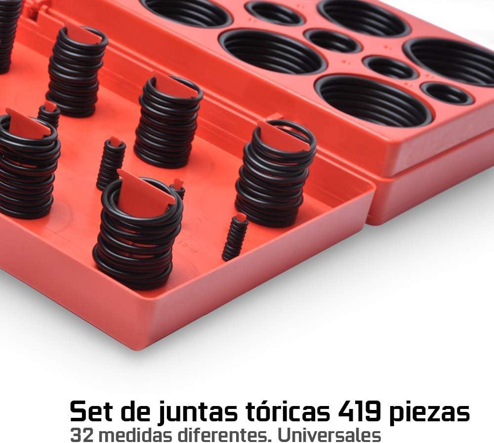 arandelas de goma de 32 medidas resistentes a combustible acido JOMAFA 419 Juntas toricas de calidad NBR 3-50mm