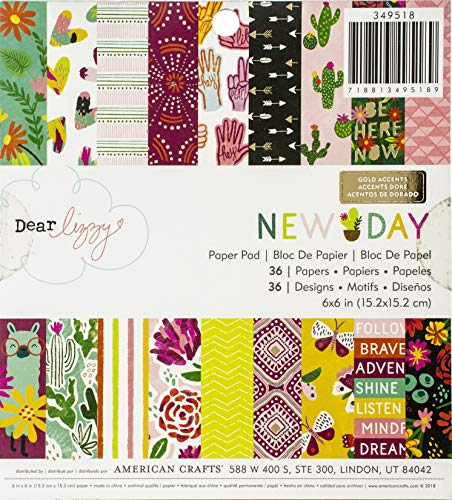 (American Crafts Single-sided Paper Pad 6