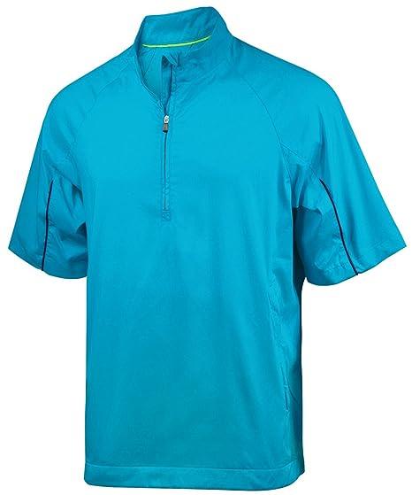 fa8c6f9d47d73 adidas Men's Climaproof Wind Short Sleeve Jacket 2