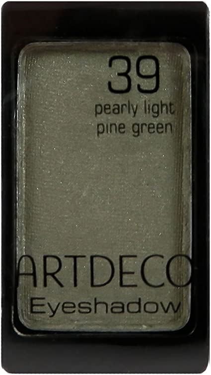 Art Deco magnético Sombras Pearl Color Nº 39, Pearly Light Pine Green, 1er Pack (1 x 9 g): Amazon.es: Belleza