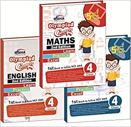 Buy Olympiad Champs Science, Mathematics, English Class 4