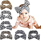 Iversan Newborn Baby Headwraps Turban Headband Knotted Hair Band(6 pcs)