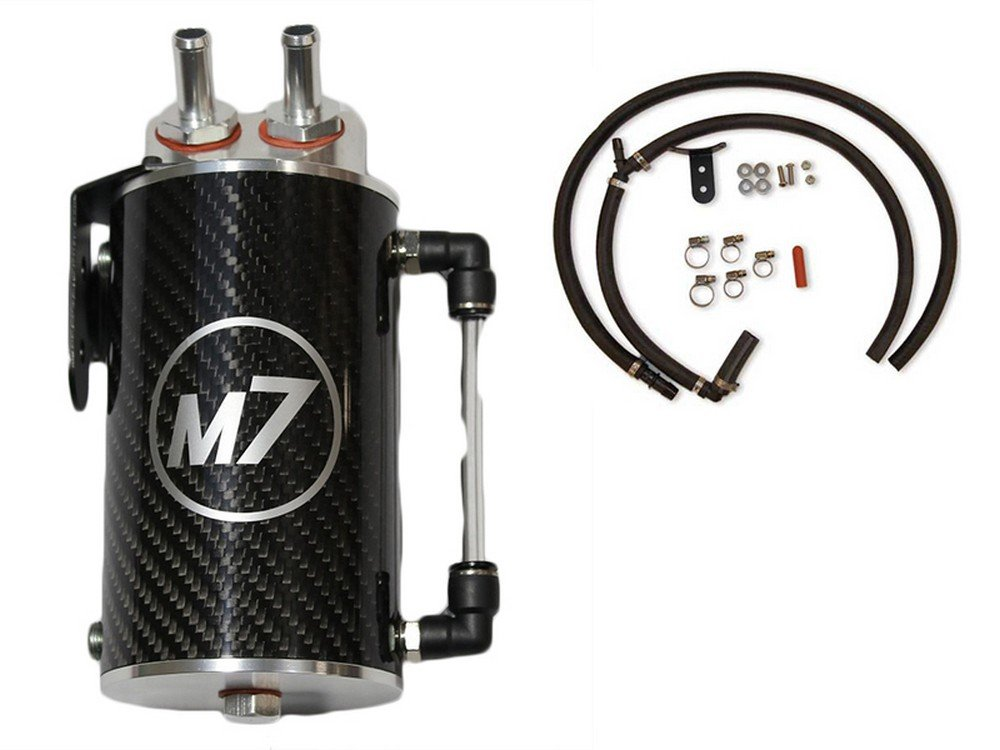 ''Exact-Fit'' Oil Catch Can Kit | Carbon Fiber | 2002-2006 R52S & R53 - MINI Cooper by M7 Speed