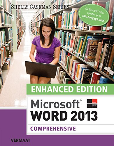 Enhanced Microsoft Word 2013: Comprehensive (Microsoft Office 2013 Enhanced Editions) Pdf