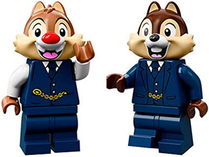Amazon.com: LEGO Accessories: Disney Train Station Minifigs - Chip and Dale:  Toys & Games